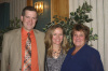 Dr. and Mrs. Allen with Sue Laurin Tyler