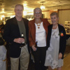 George and Pat with Sandy Aylesworth